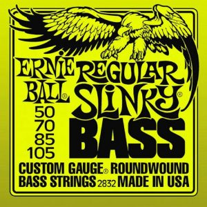 Ernie Ball 2832 Regular Slinky Bass Guitar Strings 50-105-2869