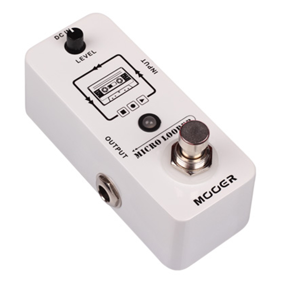 mooer-micro-looper-recording-effect-pedal-for-electric-guitar-true-bypass