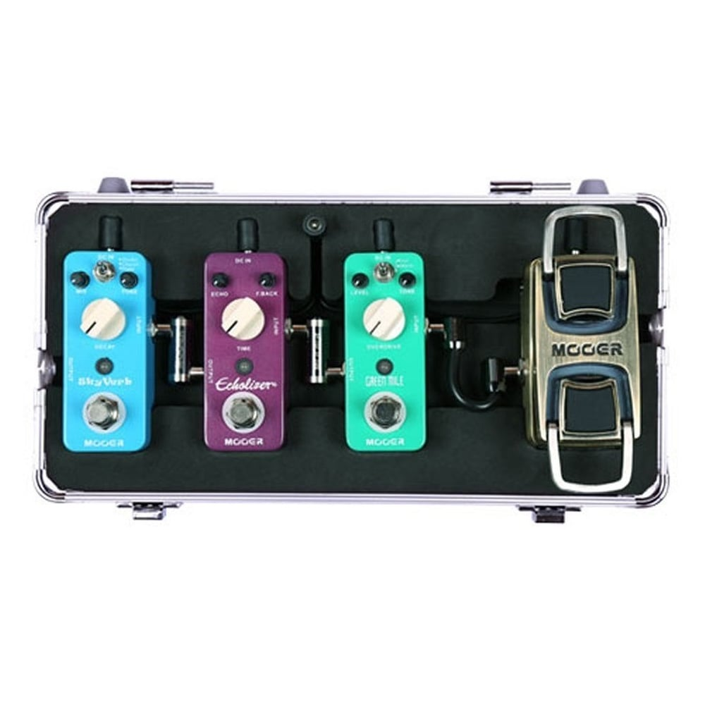 mooer-m4-firefly-mini-pedal-board-flight-case-for-micro-guitar-effects-pedals