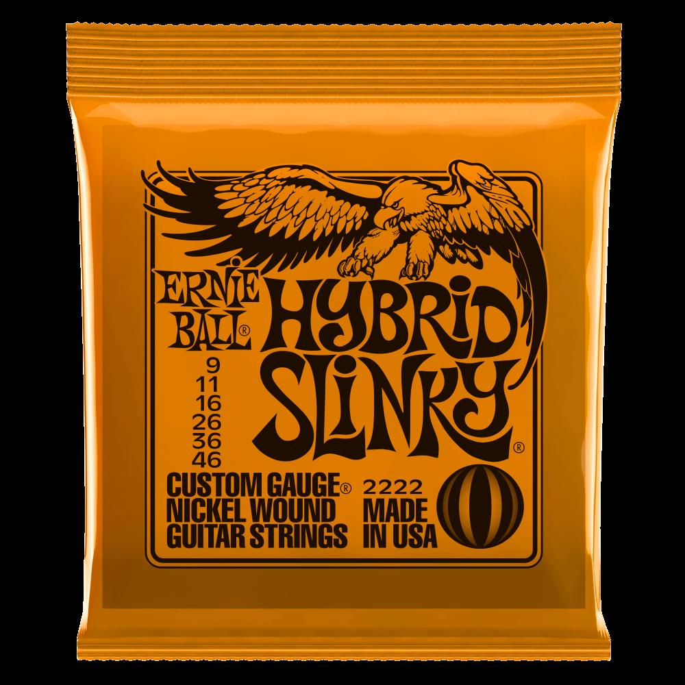Ernie-Ball-Hybrid-Slinky-9-46-Electric-Guitar-Strings
