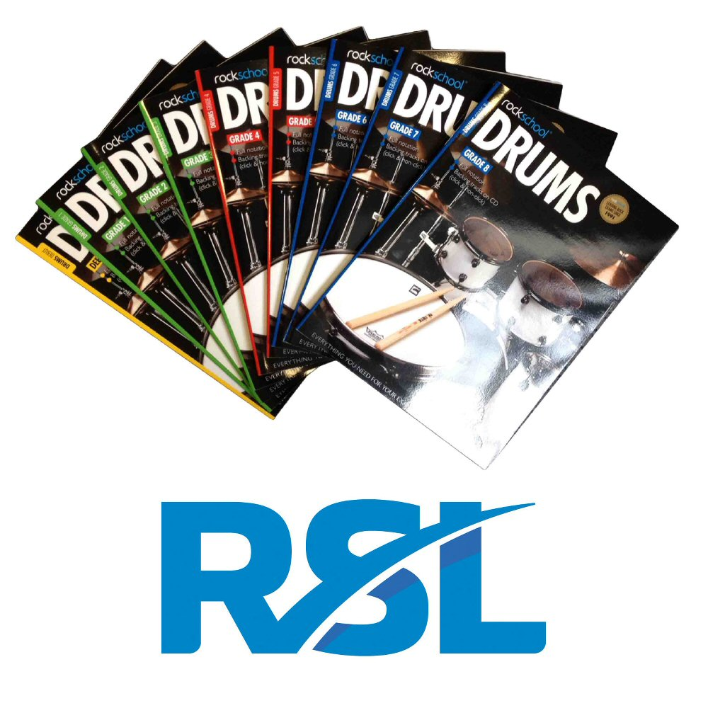 rockschool-drums-books
