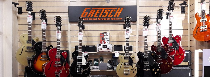 gretsch guitars nottingham abbey road music. Black Bedroom Furniture Sets. Home Design Ideas
