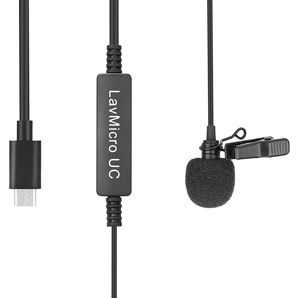 Saramonic LavMicro UC Lapel Mic USB-C For Android Devices & Camera