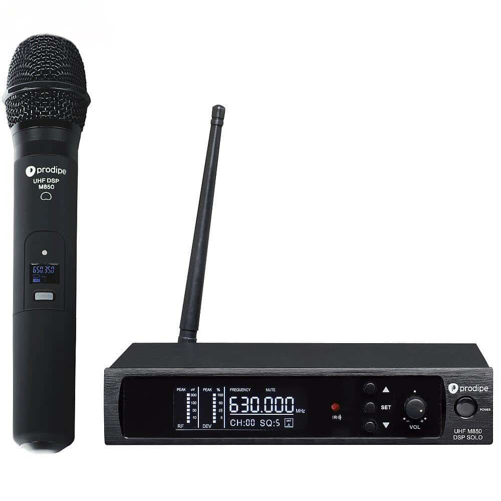 Prodipe UHF M-850 DSP Solo Radio Mic Microphone